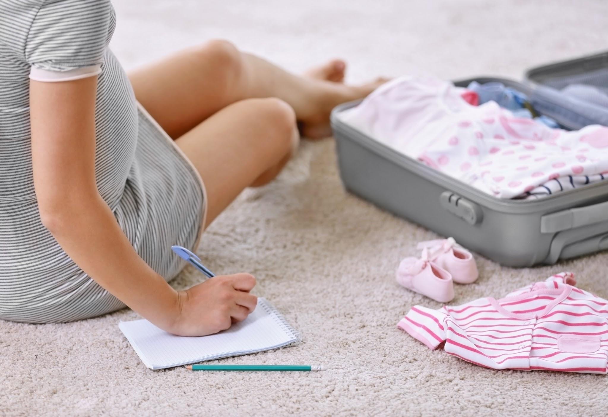 La valise de maternité