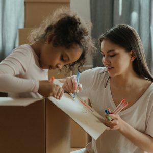 Comment faire participer ses enfants à un déménagement?
